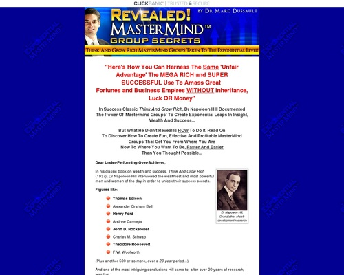 75%~ Create Profits With An Effective Mastermind Group