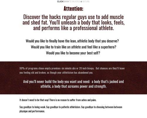 Minimalist Muscle Blitz